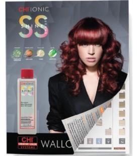 nuancier chi ionic permanent shine hair color - Coloration Sans Dcoloration
