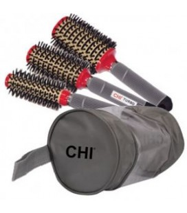 CHI Ceramic Round BOAR Brush Stylist Kit