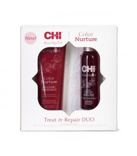CHI Rose Hip Oil Duo Kit