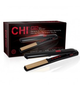 CHI G2 Ceramic & Titanium Infused Hairstyling Iron